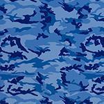 Camo - Blue